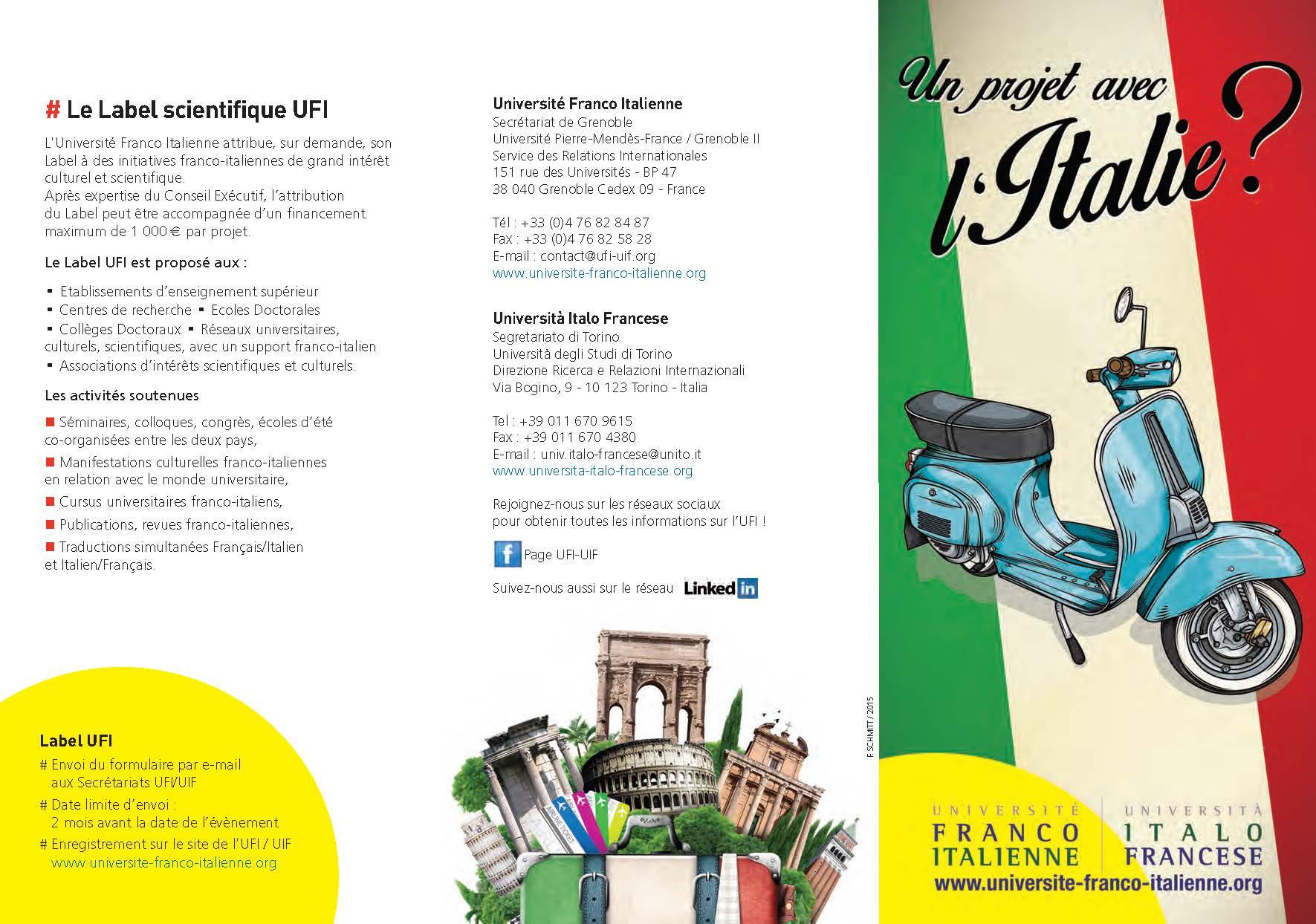 Brochure de présentation UFI